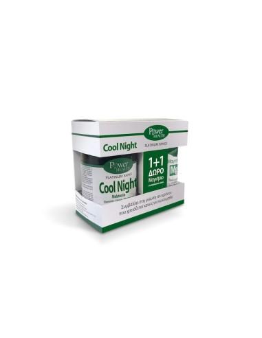 Power Health Platinum Cool Night  30caps + Δώρο Magnesium 10s - 5200321010480