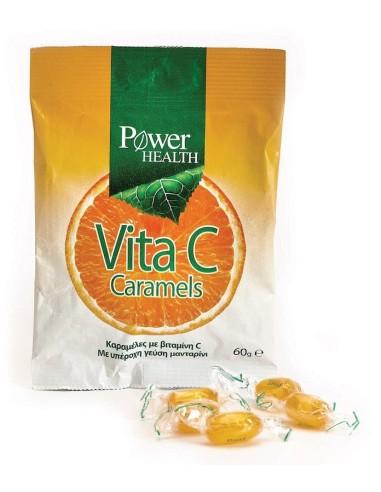 Power Health Vita C Caramels 60gr - 5200321009095