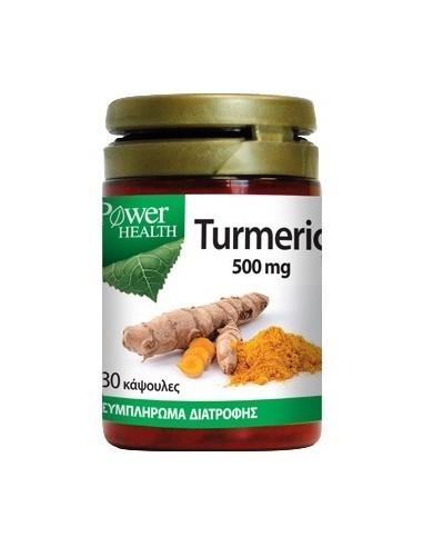 Power Health Turmeric 500mg 30caps - 5013007061436