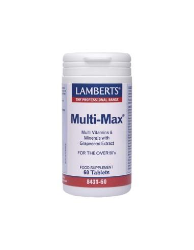 Lamberts Multi Max 60tabs - 5055148412623