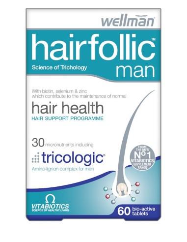 Vitabiotics Hair Follic Man 60tabs
