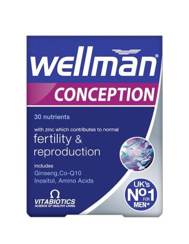 Vitabiotics Wellman Conception 30tabs - 5021265223534