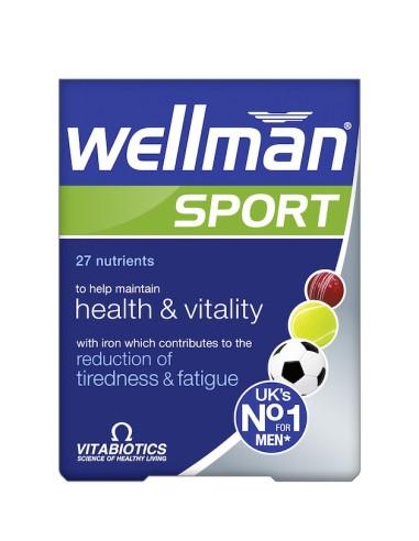 Vitabiotics Wellman Sport 30tabs - 5021265223527