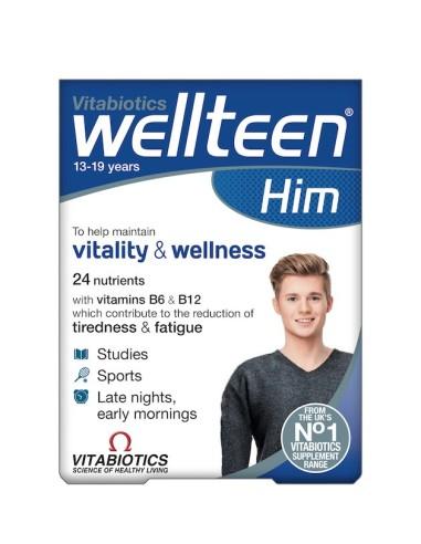 Vitabiotics Wellteen Him 30tabs - 5021265247325