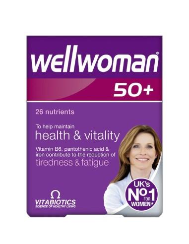 Vitabiotics Wellwoman 50+ 30tabs