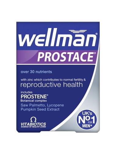 Vitabiotics Wellman prostace 60tabs - 5021265243518