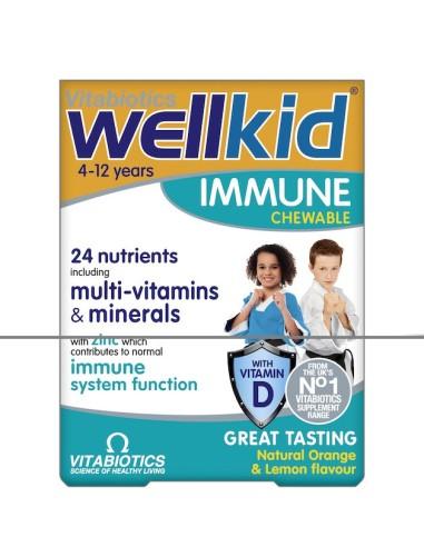 Vitabiotics Wellkid Immune 30tabs - 5021265246441