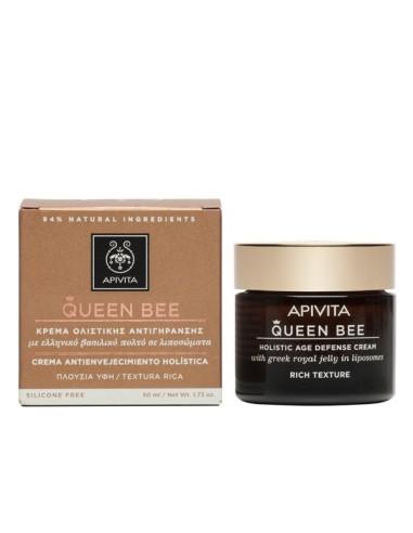 Apivita Queen Bee Κρέμα Ημέρας Ολιστικής Αντιγήρανσης Πλούσιας Υφής 50ml - 5201279026356