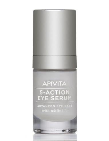 Apivita 5 Action Eye Serum 15ml - 5201279039639