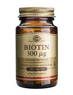 Solgar Biotin 300μg 100tabs