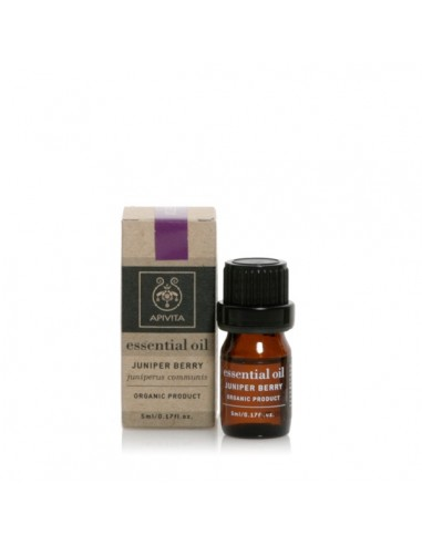 Apivita Essential Oil Juniper - Αγριοκυπάρισσο 5ml - 5201279005061