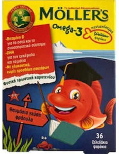 Moller's Omega-3 Kids 36 gummies...