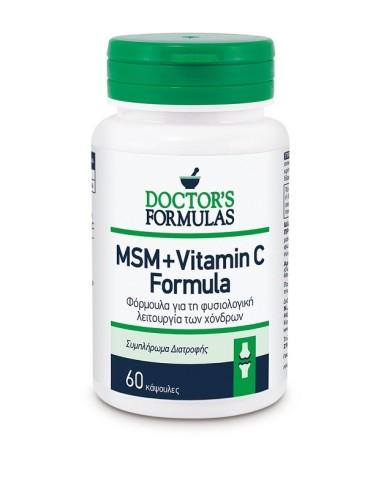 Doctor's Formulas Msm + Vitamin C Formula 60caps - 5200403400338