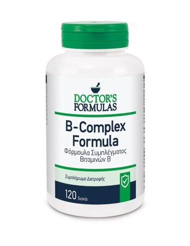 Doctor's Formulas Vitamin B-Complex Formula 120caps - 5200403400314