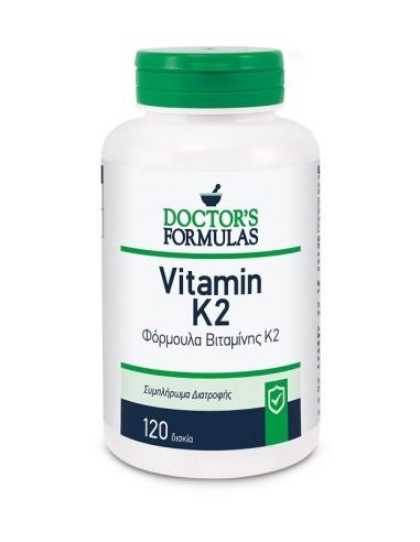 Doctor's Formulas Vitamin K2 120caps - 5200403400321