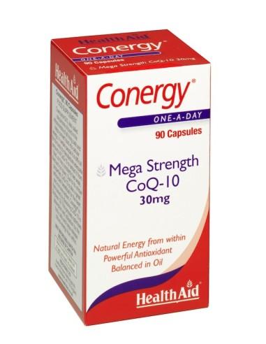 Health Aid Conergy Co-Q10 30mg 90caps
