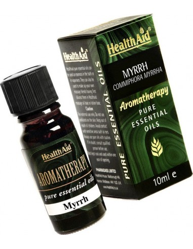 Health Aid Aromatherapy Myrrh Oil 10ml
