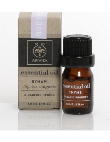Apivita Essential Oil Thyme - Θυμάρι 5ml