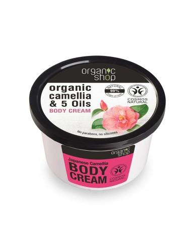 Natura Siberica Body Cream Japanese Camellia 250ml - 4744183012431