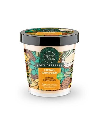 Natura Siberica Body Desserts Caramel Cappuccino Firm Body Cream 450ml - 4744183011991