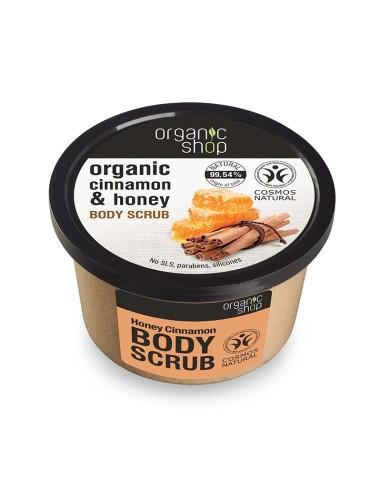 Natura Siberica Body Scrub Honey Cinnamon Top - 4744183012509