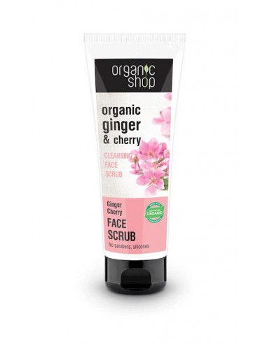 Natura Siberica Cleaning Face Scrub Ginger Cherry 75ml - 4744183012202