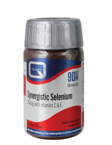 Quest Synergistic Selenium 200mg 30tabs