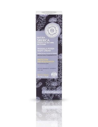 Natura Siberica Rhodiola Rosea Night Cream For Sensitive Skin 50ml - 4744183011267