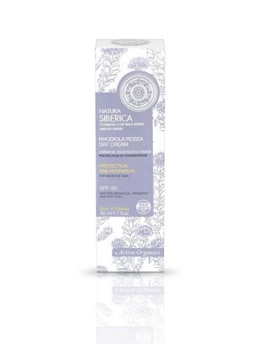 Natura Siberica Rhodiola Rosea Day Cream For Sensitive Skin 50ml - 4744183011229