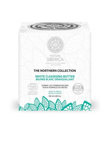 Natura Siberica Northern White Cleansing Butter 120ml - 4743318167787