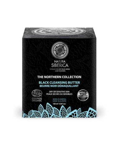 Natura Siberica Northern Black Cleansing Butter 120ml - 4743318167770