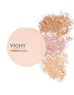 Vichy MineralBlend Healthy Glow Tri-Color Powder Medium 9g - 3337875641517