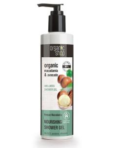 Natura Siberica Organic Shop Nourishining Shower Gel Kenyan Macadamia 280ml - 4744183011502