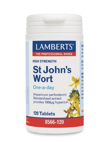 Lamberts St John'S Wort 1700mg 120tabs - 5055148403157
