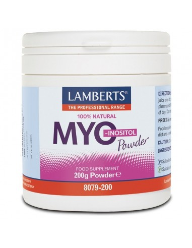 Lamberts Myo Inositol 200gr - 5055148411251