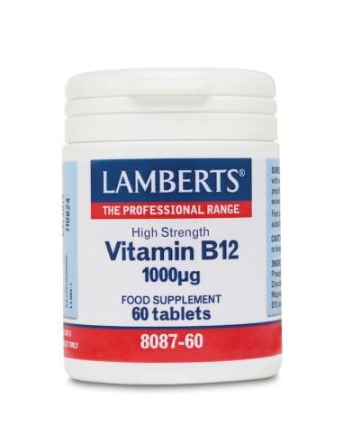 Lamberts Vitamin B12 1000mg 60tabs - 5055148410582