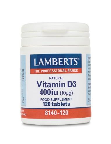 Lamberts Vitamin D3 400iu 120tabs