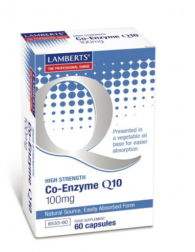 Lamberts Co-Enzyme Q10 100mg 60caps