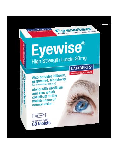 Lamberts Eyewise High Strength Lutein 20mg 60tabs - 5055148410308