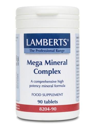 Lamberts Mega Mineral Complex 90tabs - 5055148400514