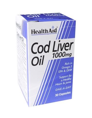 Health Aid Cod Liver Oil 30caps