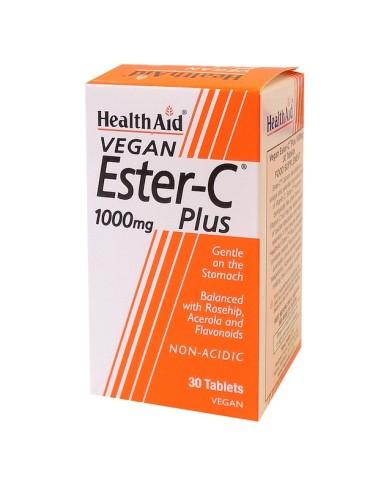 Health Aid Ester C 1000mg 30tabs - 5019781011759