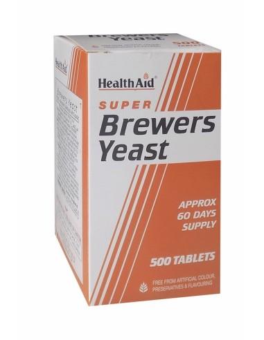 Health Aid Brewers Yeast Μαγιά 500tabs