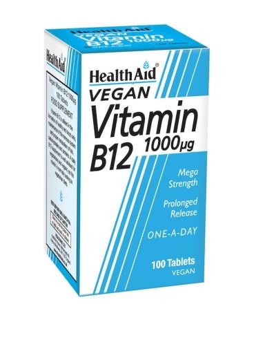 Health Aid Vitamin Β12 100tabs - 5019781010615