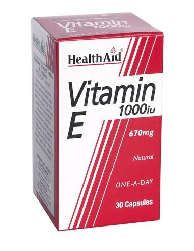 Health Aid Vitamin Ε 1000iu 30caps