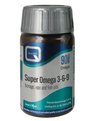 Quest Super Omega 3-6-9 90caps