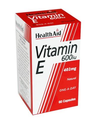 Health Aid Vitamin Ε 600iu  60caps