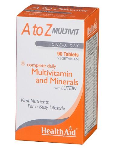 Health Aid Α To Ζ Multivit 90tabs