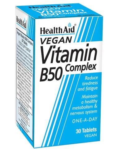 Health Aid Β 50 Complex 30tabs