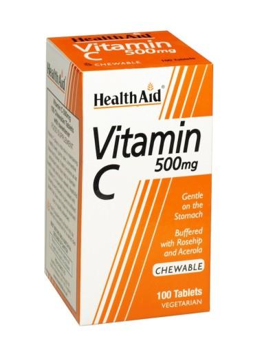 Health Aid Vitamin C 500mg (Μασώμεvη)...